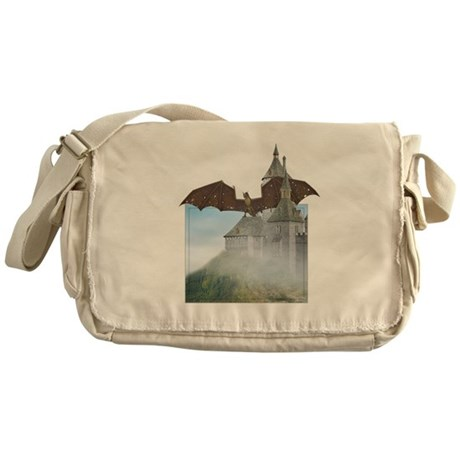 Dragon Castle Messenger Bag