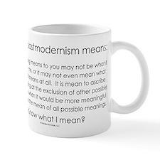 Postmodernism Small Mug