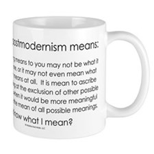 Postmodernism Small Mug