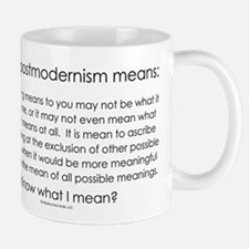 Postmodernism Small Small Mug