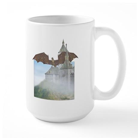 Dragon Castle Large Mug