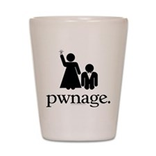 Pwnage Shot Glass