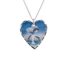The Heart Of The Dolphins Necklace