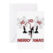 hohoho_xmas Greeting Cards