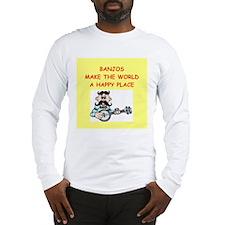 banjos Long Sleeve T-Shirt