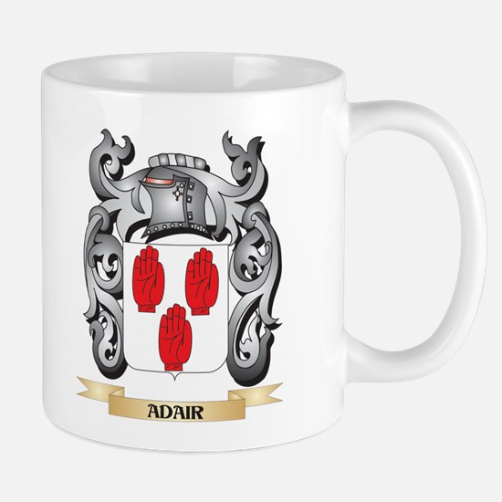 Adair Family Crest - Adair Coat of Arms Mugs