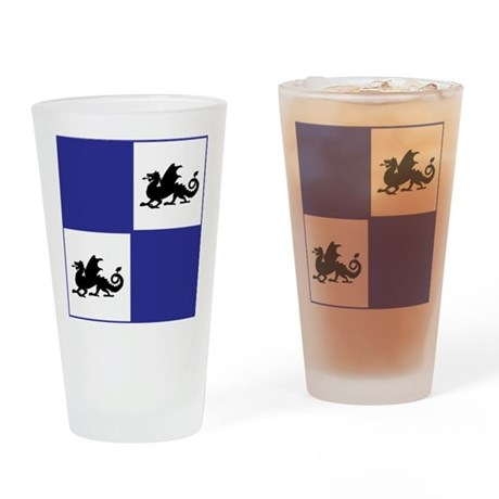 Middle Ages (blue) Drinking Glass