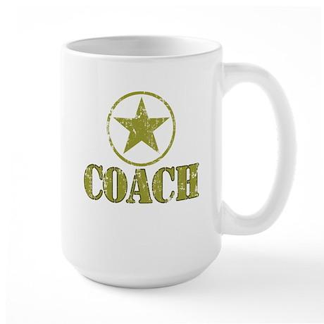 Coach General's Star Large Mug