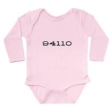 94110 Long Sleeve Infant Bodysuit (onsie)