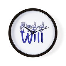 Will Wall Clock