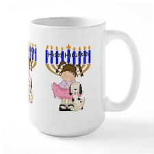 Happy Hanukkah Friends Mug
