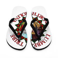 Lumbee Pride Flip Flops