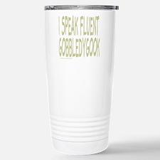 GOBBLEDYGOOK Travel Mug