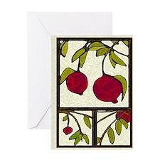 pomegranates Season's Greetings Card