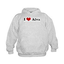 I Love Alva Hoodie