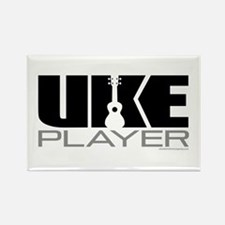 Uke Player Rectangle Magnet