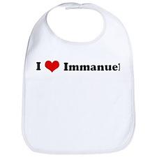 I Love Immanuel Bib