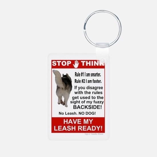 Unique Sled dog Keychains