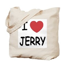 I heart jerry Tote Bag