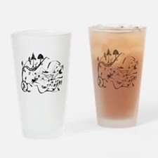 Cute Evolution Drinking Glass