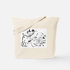 Cute Evolution Tote Bag