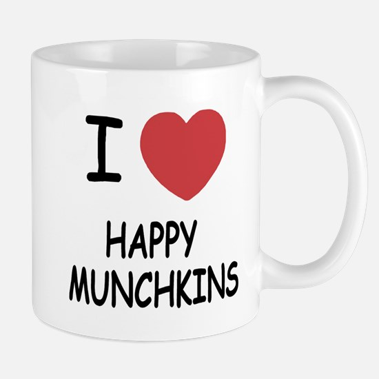 I heart happy munchkins Mug