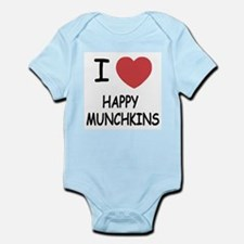 I heart happy munchkins Infant Bodysuit