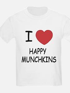 I heart happy munchkins T-Shirt
