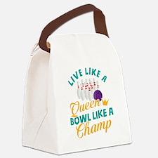Cute Fun holiday Canvas Lunch Bag
