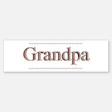 Grandpa Bumper Bumper Sticker