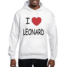 I heart leonard Hoodie Sweatshirt