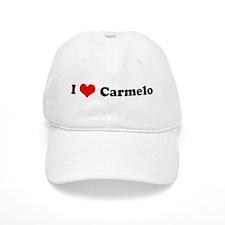I Love Carmelo Baseball Cap