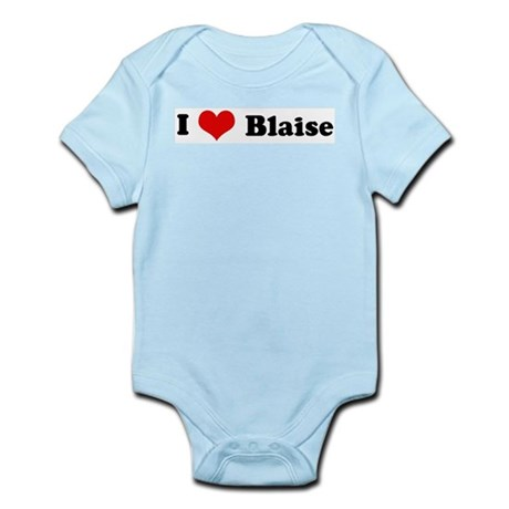 I Love Blaise Infant Creeper