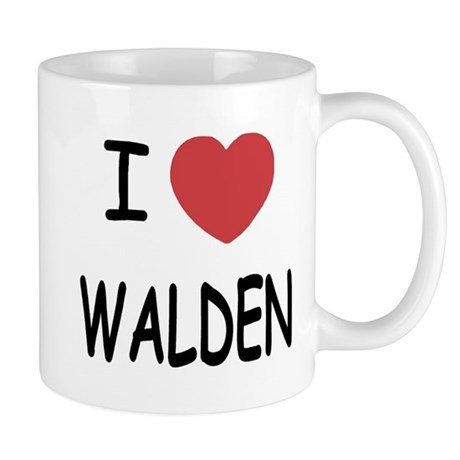 I heart walden Mug