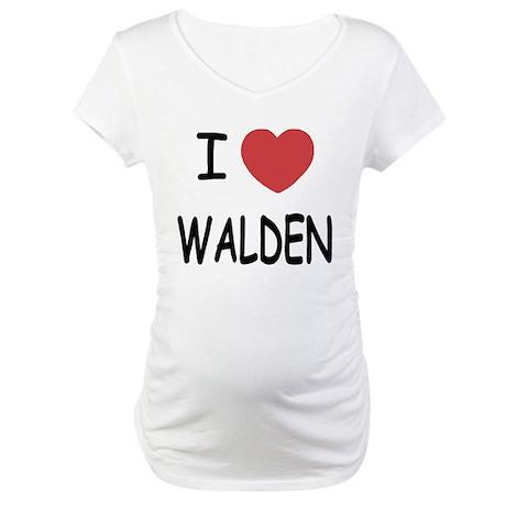 I heart walden Maternity T-Shirt