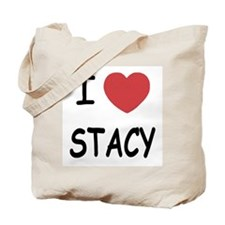 I heart stacy Tote Bag