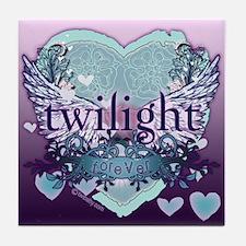 Twilight Forever Aqua Tile Coaster