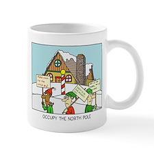 occupy the north pole mug