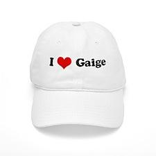 I Love Gaige Baseball Cap