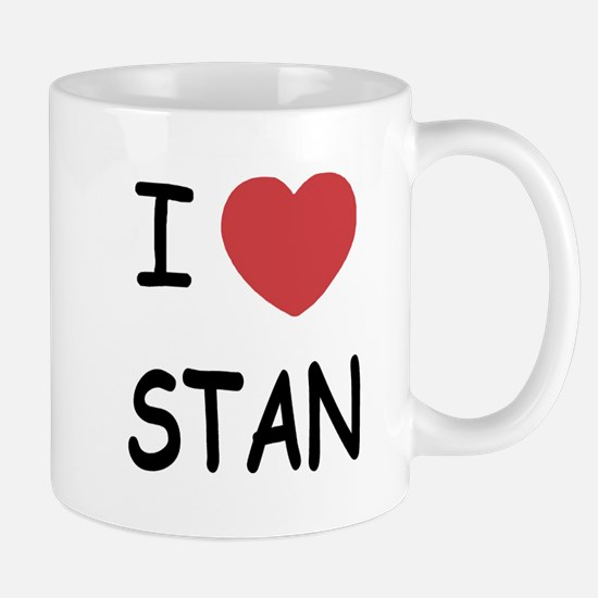 I heart stan Mug
