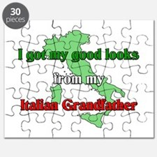 I got my good looks from my I Puzzle