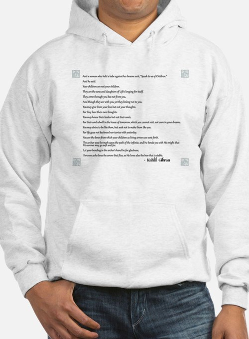 Kahlil Gibran Quote Hoodie