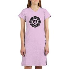Peace Flower Women's Nightshirt