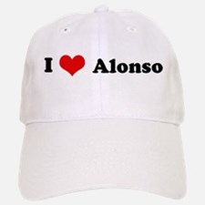 I Love Alonso Baseball Baseball Cap