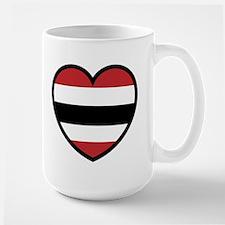 Hawk Heart Solo Large Mug