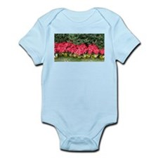 Unique Poinsettia Infant Bodysuit