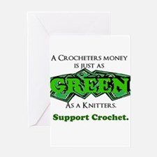 Support Crochet Greeting Card
