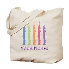 Personalized Oboe Tote Bag