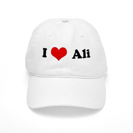 I Love Ali Cap