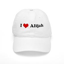 I Love Alijah Baseball Cap